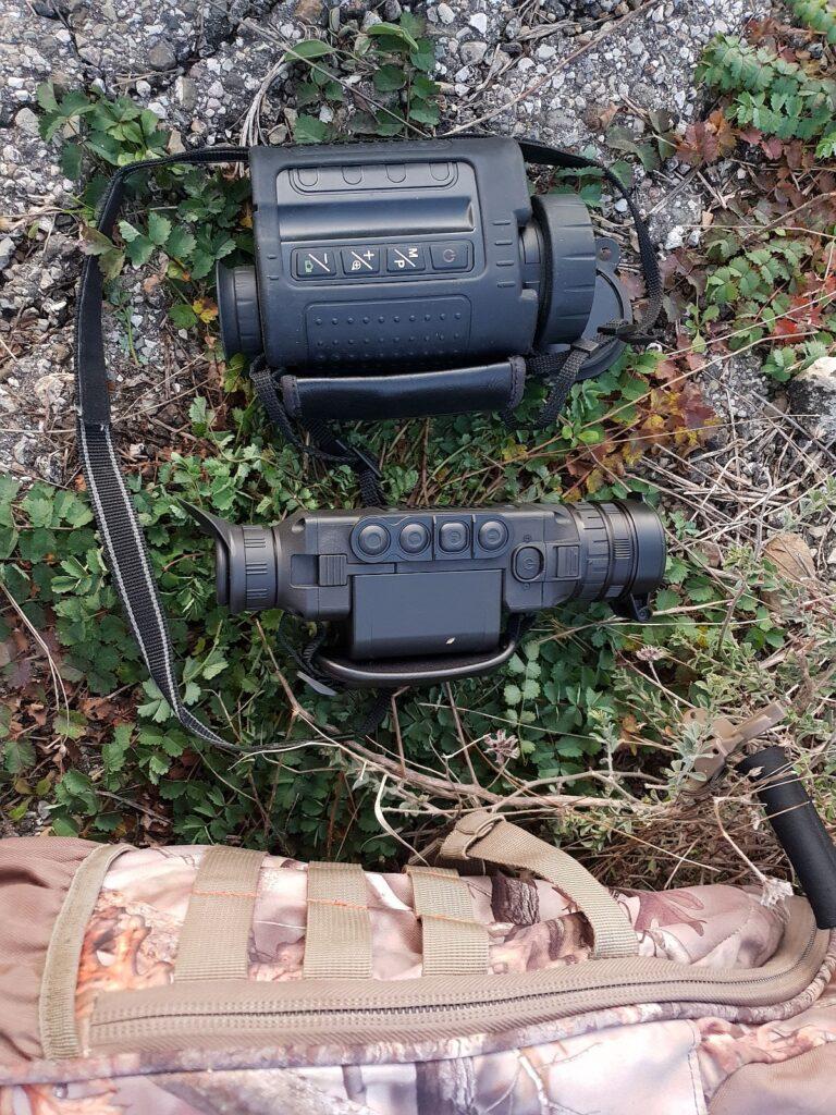termocamera, thermal camera, visione notturna, osservazione fauna